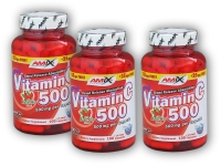 2x Vitamin C 500mg + Rose H.125cps+ 1x Zdarma