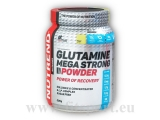 Glutamine Mega Strong Powder 500g - punč+brusinka